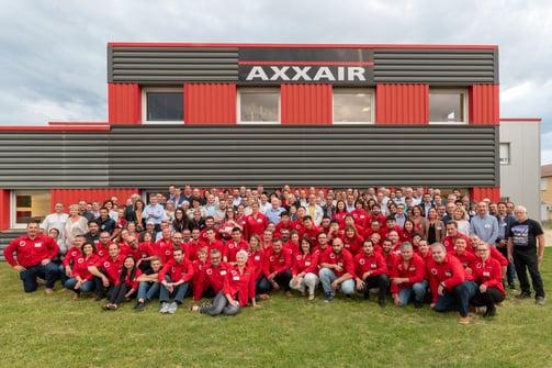 20 ans AXXAIR , 20 years AXXAIR