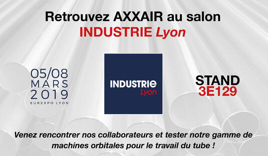 AXXAIR salon global industrie 2019