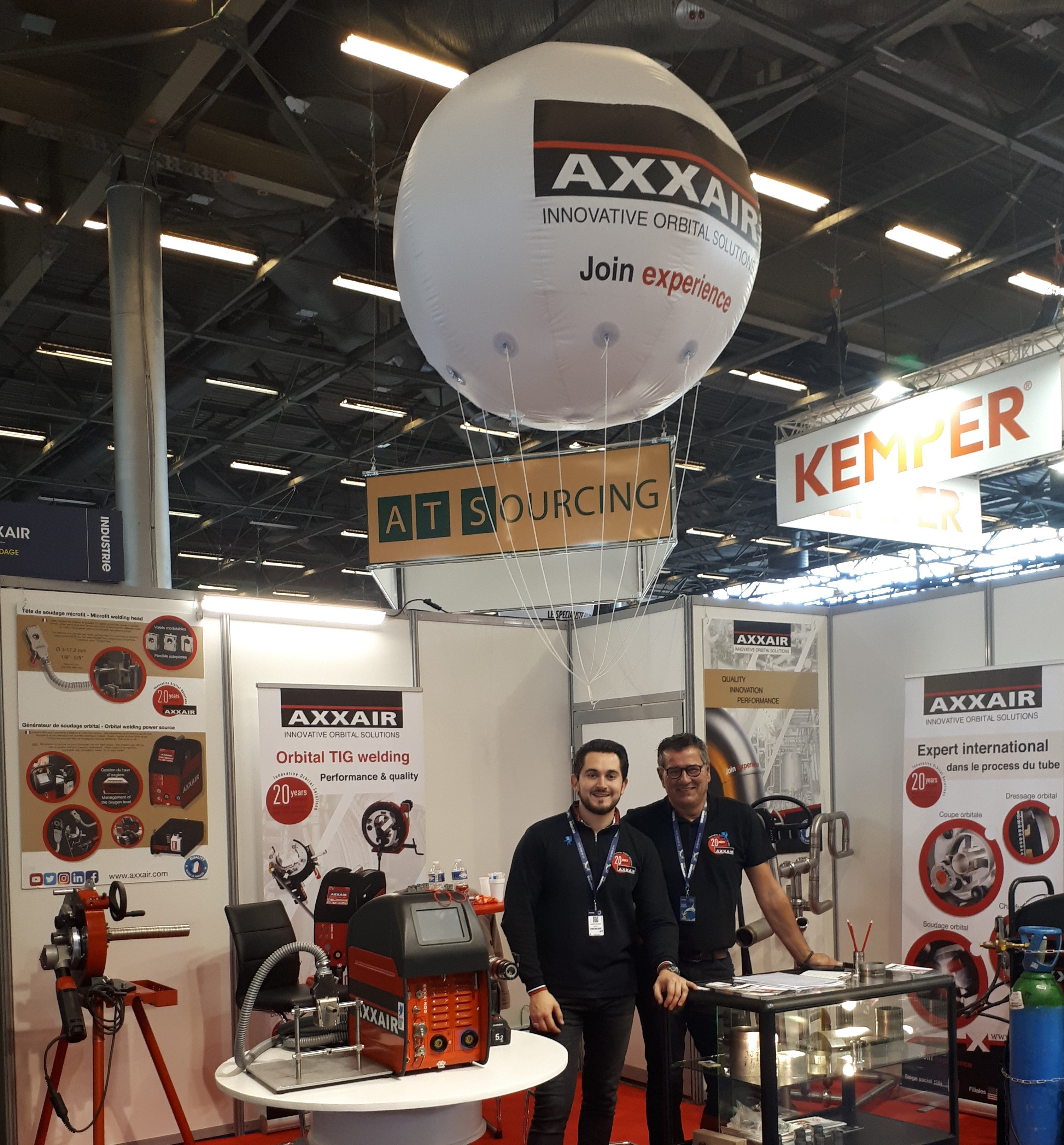 AXXAIR Salon Global Industrie