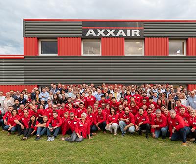 AXXAIR celebrated its 20 years anniversary