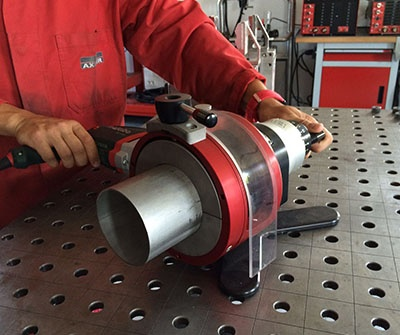 Tube squaring: a compulsory step for a perfect weld