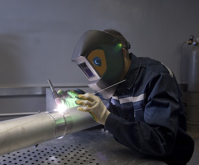 TIG welding in complete safety