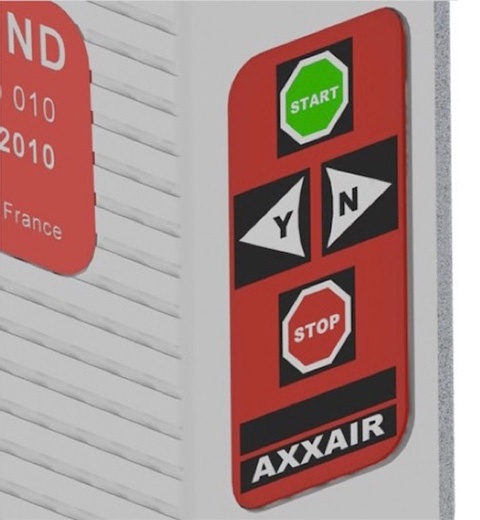 SATF-40ND solution axxair