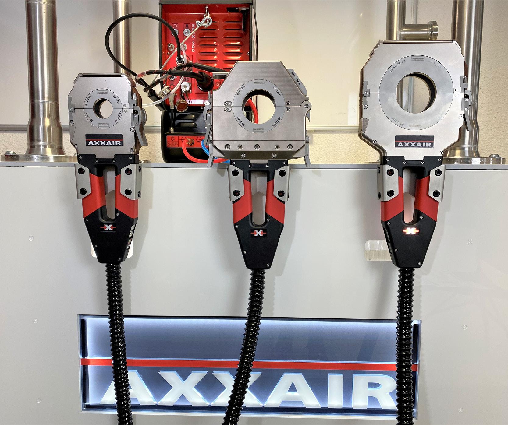 SATFX: New range of orbital closed welding heads for perfect butt welding