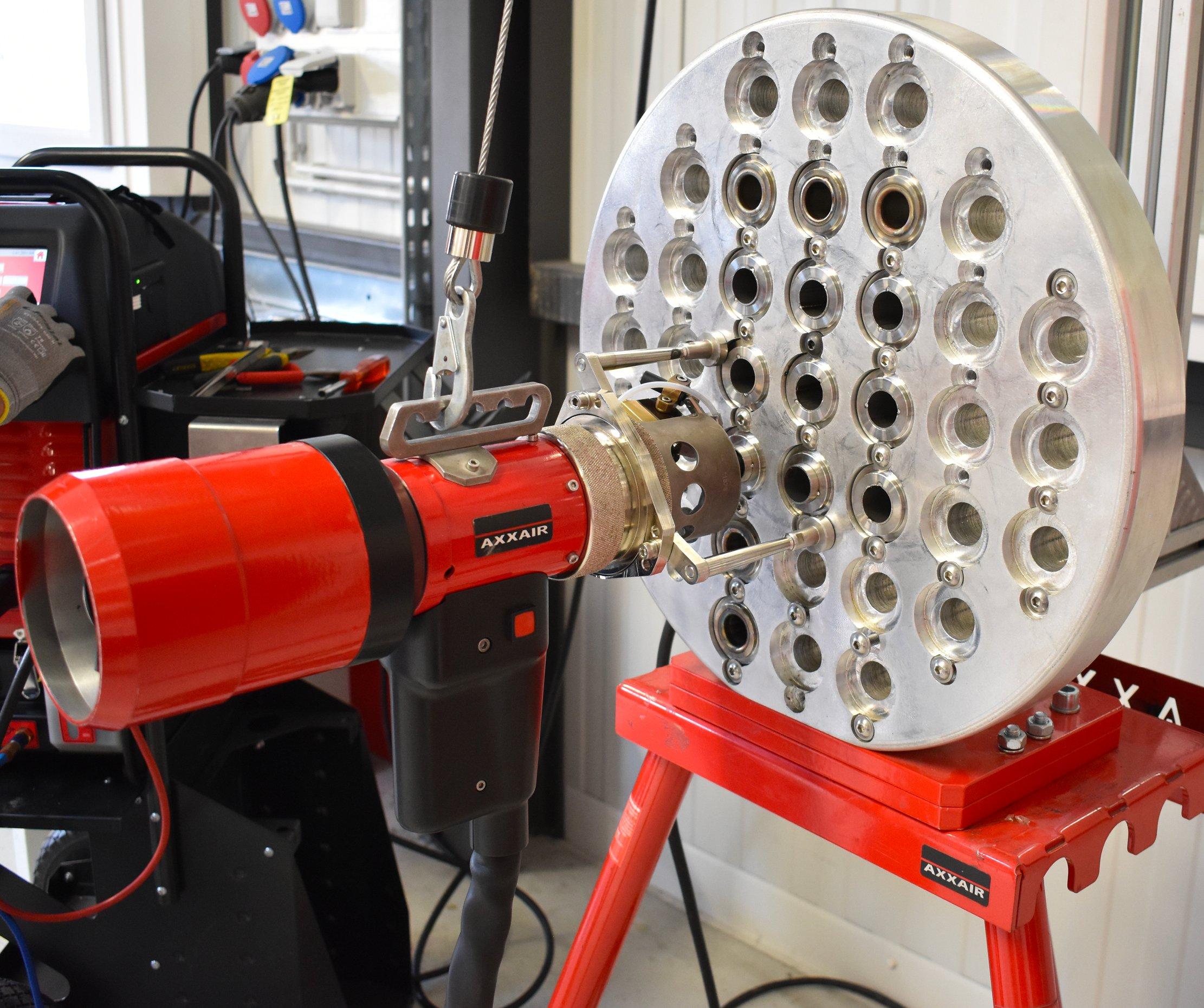 La préparation des tubes pour les jonctions Tube sur Plaque