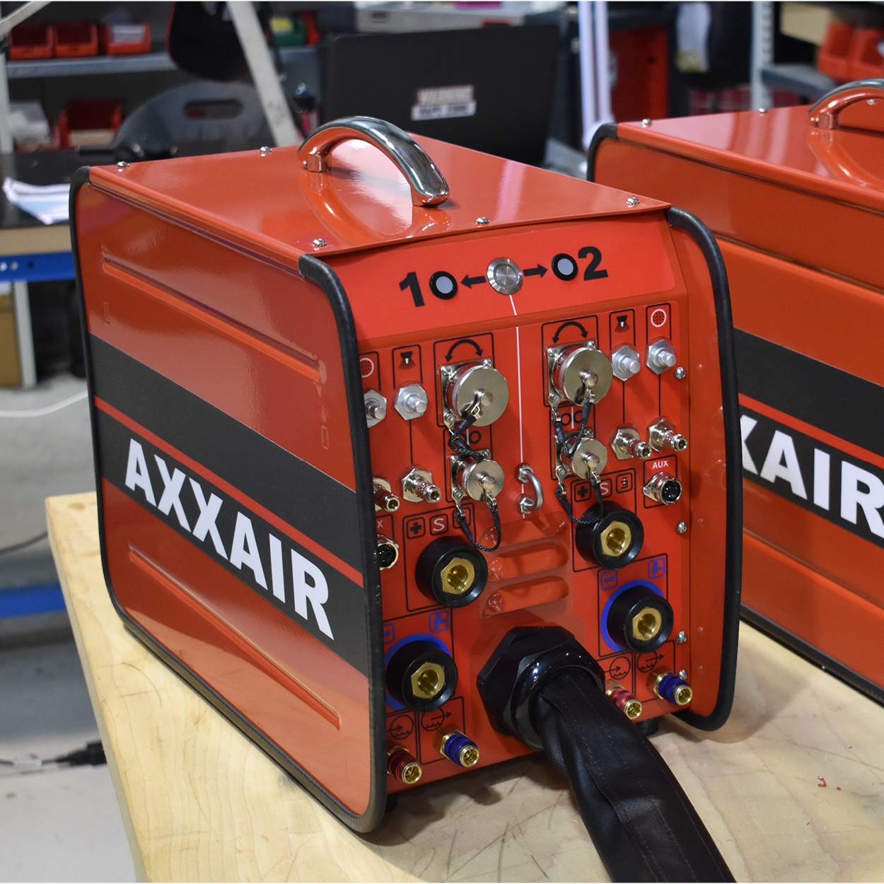 Switchbox AXXAIR 2019
