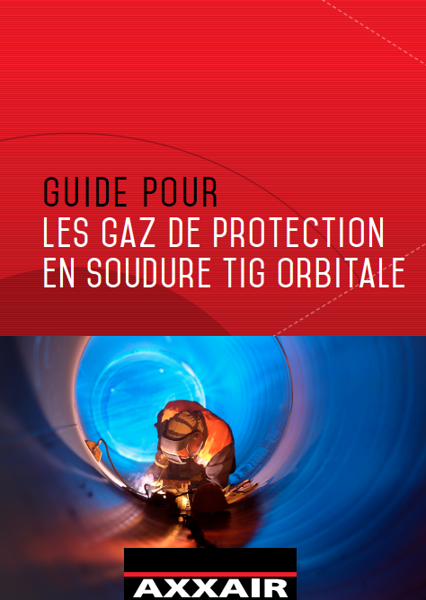 Les gaz de protection en soudure TIG orbitale