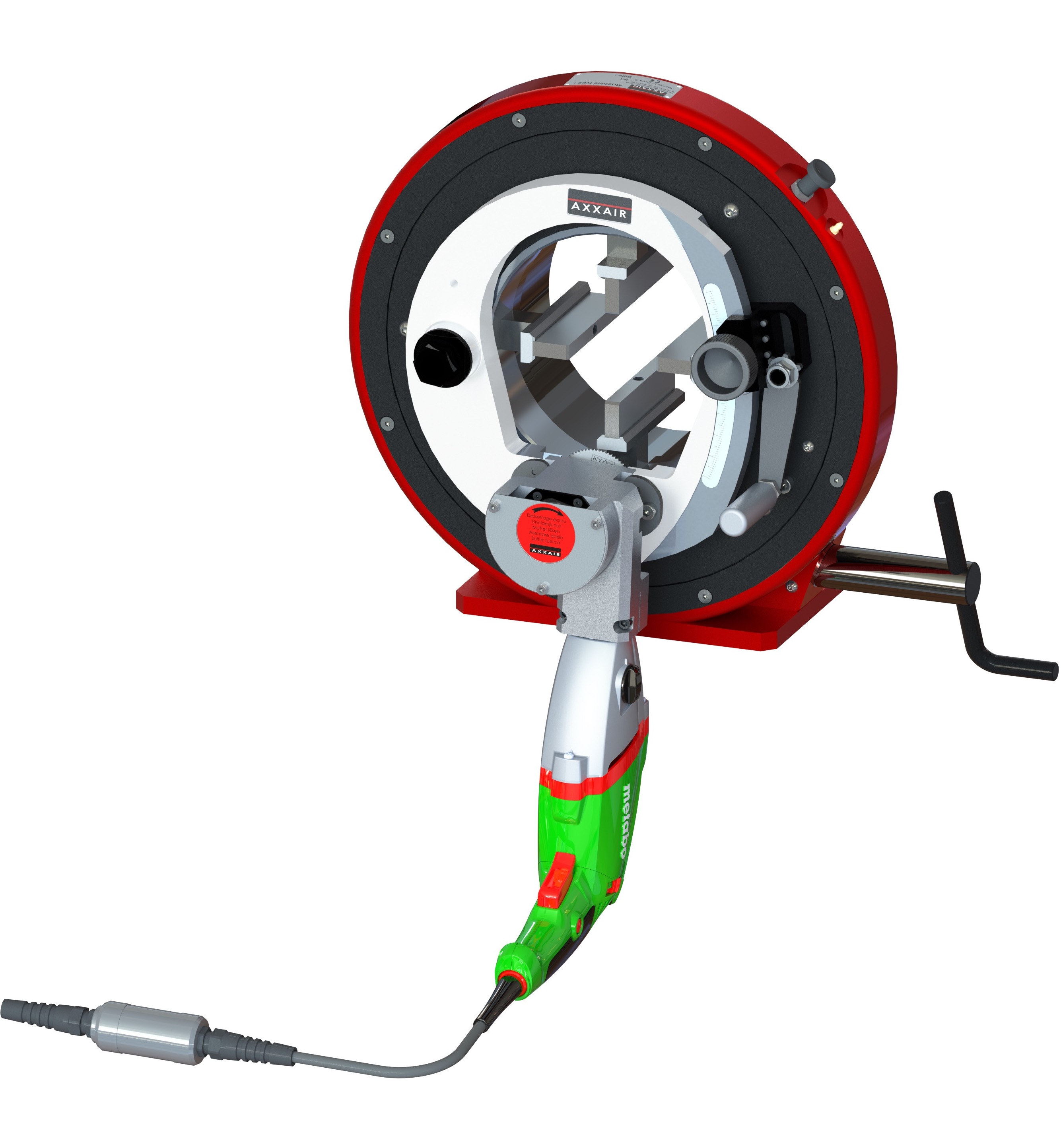 New Orbital Cutting Machine AXXAIR 171ECO