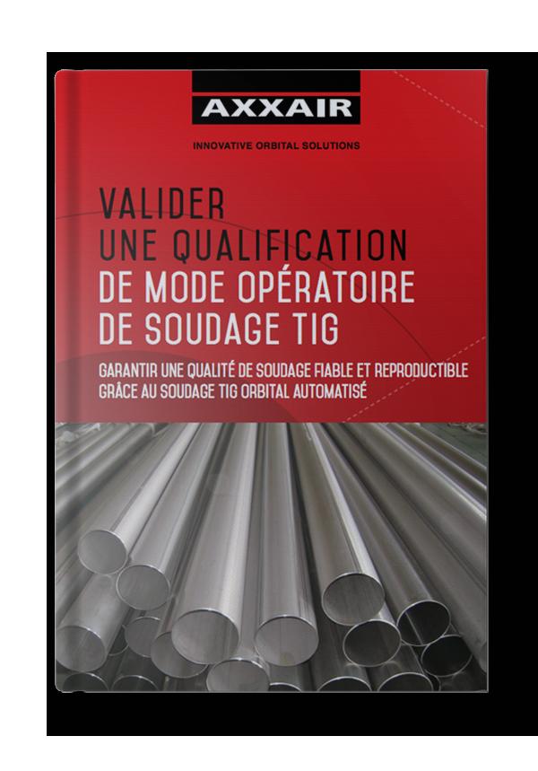 Le guide de la qualification des modes opératoires de soudage TIG
