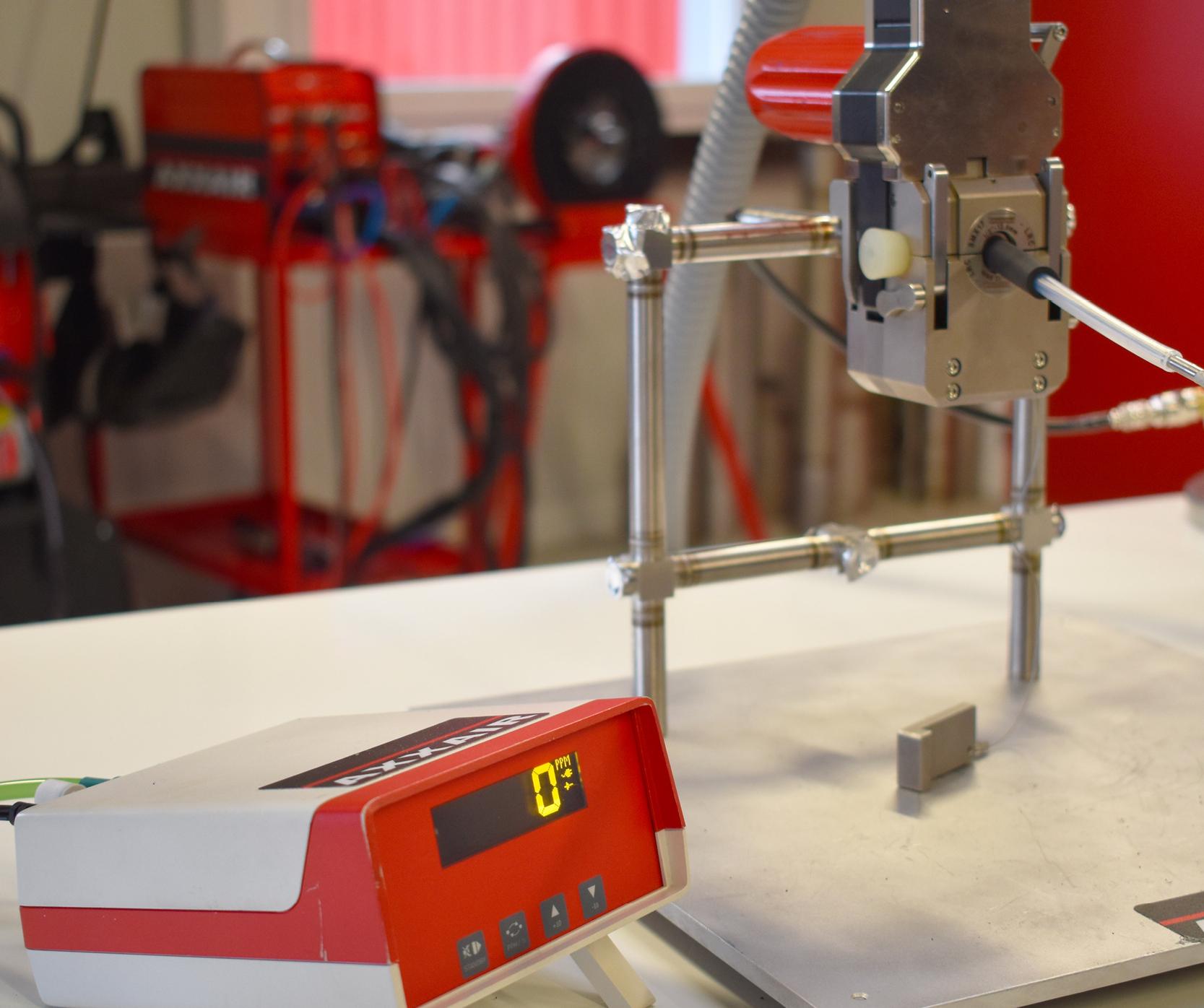 Optimized orbital TIG welding results thanks to a PPM oxygen analyzer?