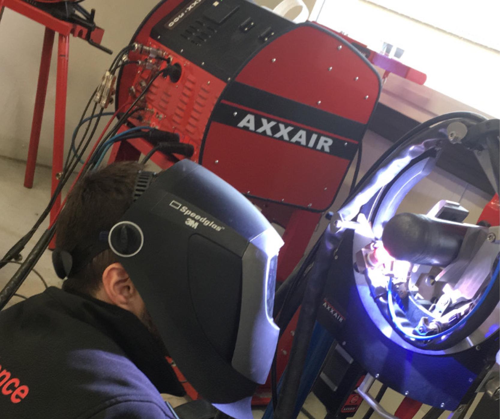 Welding procedure qualification to guarantee quality welds